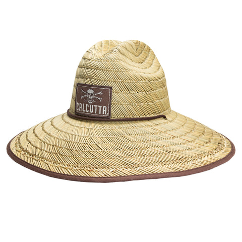 Calcutta Patch Straw Hat