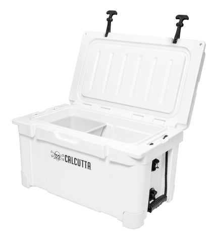 Renegade 35 Liter / 37 Quart Cooler with drain plug light - White