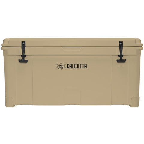 Renegade 100 Liter / 105 Quart Cooler with drain plug light - Tan