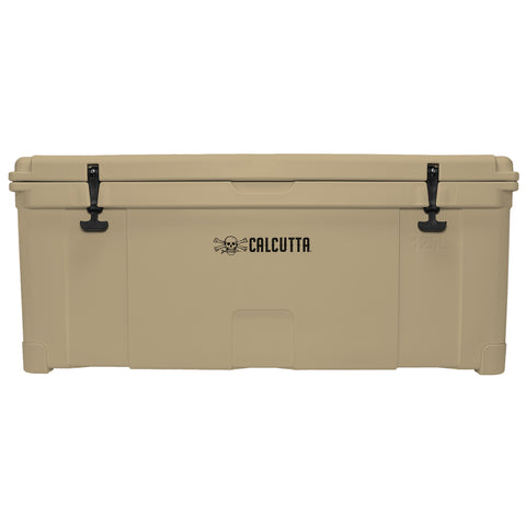 Renegade 125 Liter / 132 Quart Cooler with drain plug light - Tan