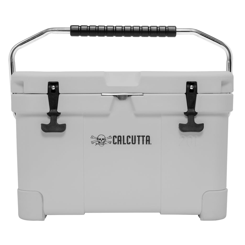 Renegade 20 Liter / 21 Quart Cooler with drain plug light - Gray