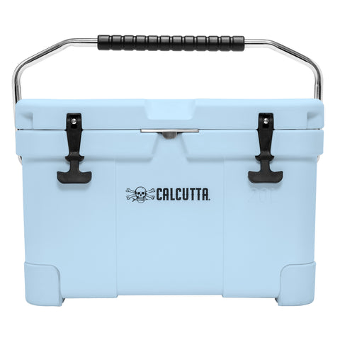 Limited Edition Renegade 20 Liter / 21 Quart Cooler with drain plug light - Blue