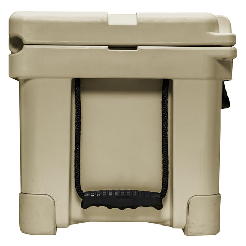 Renegade 35 Liter / 37 Quart Cooler with drain plug light - Tan