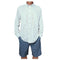 Long Sleeve Performance Fishing Shirt - Light Blue