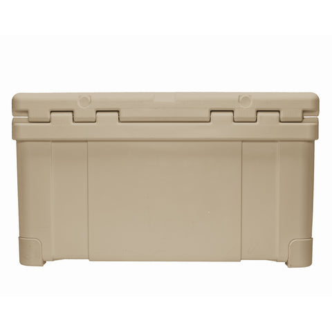 Renegade 55 Liter / 58 Quart Cooler with drain plug light - Tan