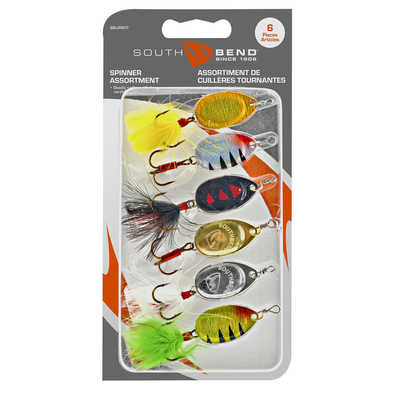 Lunker Spinner Kit - 6 Pack