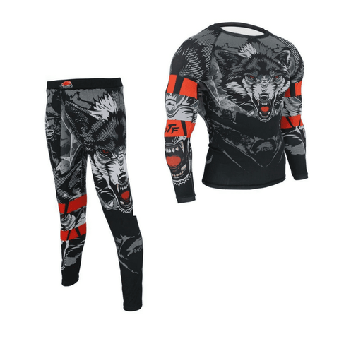 Growling Wolf No Gi Bundle Bundles M / Growling Wolf / Without Shorts
