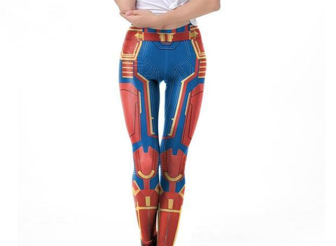 Women's Captain Marvel BJJ Spats Spats KDK1944 / S