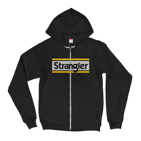 Strangler Brand™ / SSSF Zip-Up Hooded Sweatshirt Black / XS