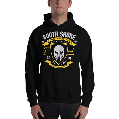 South Shore Sportfighting Hooded Sweatshirt Black / S
