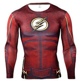 Flash BJJ Rashguard (LS) Cosplay Red / S