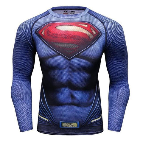 Superman BJJ Rashguard