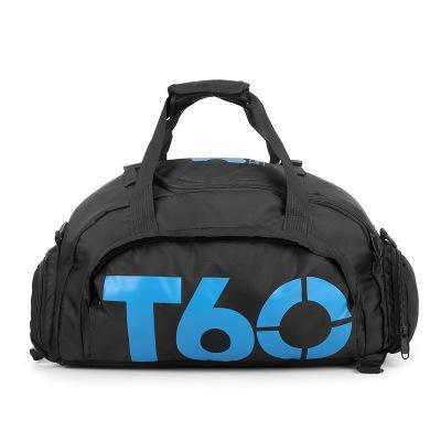 Heavy Impact Gym Bag Bags black blue T60