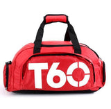 Heavy Impact Gym Bag Bags red white T60