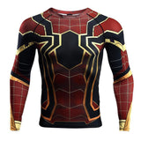 Spiderman Infinity War Rashguard Rashguards Spiderman IW / S