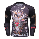 Wise Owl Grapple Guard Rashguards