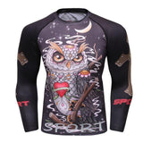 Wise Owl Grapple Guard Rashguards Wise Owl / M