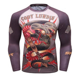 Smothering Serpent Grapple Guard Rashguards Serpent Style / M