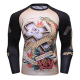 Cross Eye Grapple Gurad Rashguards Cross Eye / M