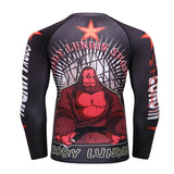 Silverback Sensei Grapple Guard Rashguards