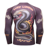 Smothering Serpent Grapple Guard Rashguards