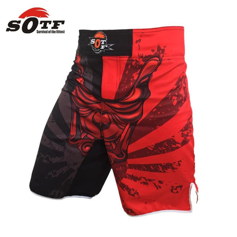 Demon Horns BJJ Shorts Shorts Black / L / China