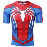 Spiderman OG BJJ Rashguard (SS) Rashguards Red/Blue / S
