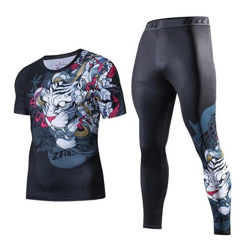 Tiger Style No Gi BJJ Bundle Bundles Black / S