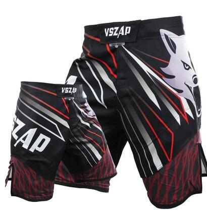 VSZAP Powerful Fight Shorts Shorts Black / Red / XXS