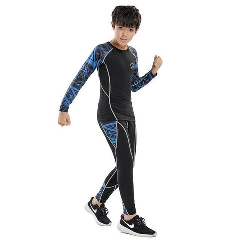 No Gi Youth Bundle Blue Electricity (2 - 4 pcs) Kids Blue 2pcs / 22