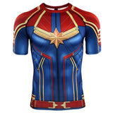 Captain Marvel BJJ Rashguard