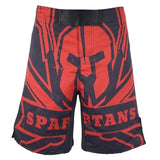 HYDRA Spartans MMA Shorts Shorts Black / L