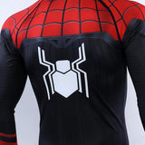 Spiderman Far From Home BJJ Rashguard Rashguards Red / S