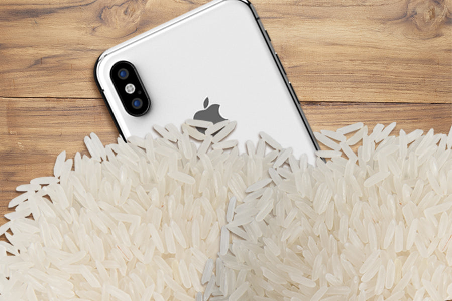 Why You Shouldn't Use Rice for Water Damaged Phones