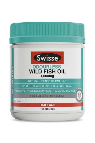 Odourless High Strength Wild Fish Oil 1000mg