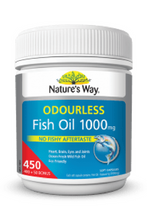 Load image into Gallery viewer, Fish Oil 1000mg