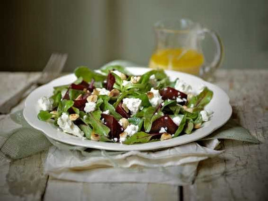 Beetroot & Hazelnut Fettle Salad
