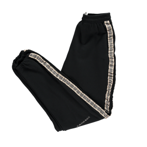 Black Blurberry Joggers