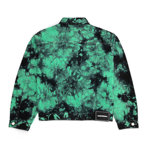 Green Dye Denim Jacket
