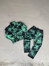 Green Dye Denim Jeans