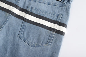 Stripe Denim Jeans