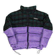 Purple Patchwork Puffer