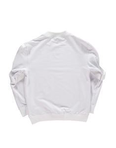White Tech Crewneck