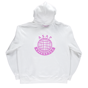 White A$AP TyY Hoodie
