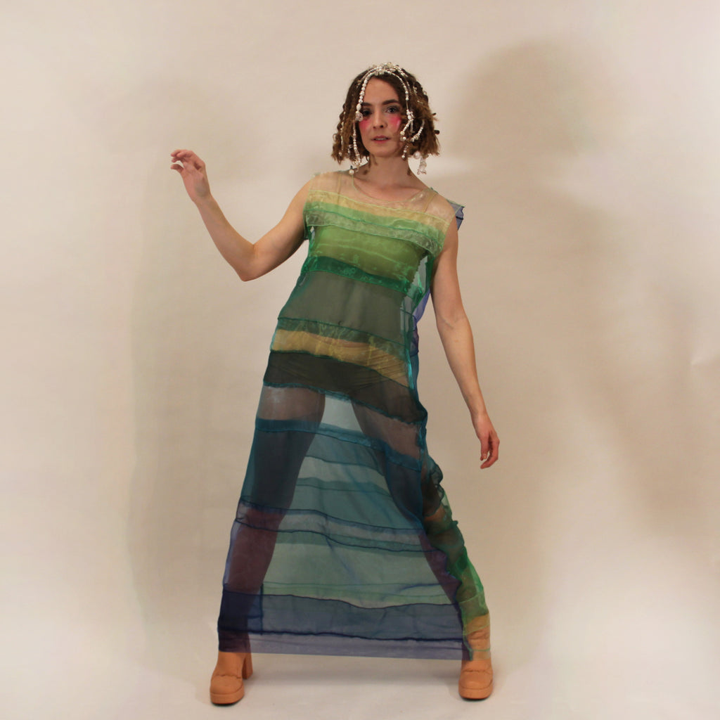 Long Sea(Weed) Dress