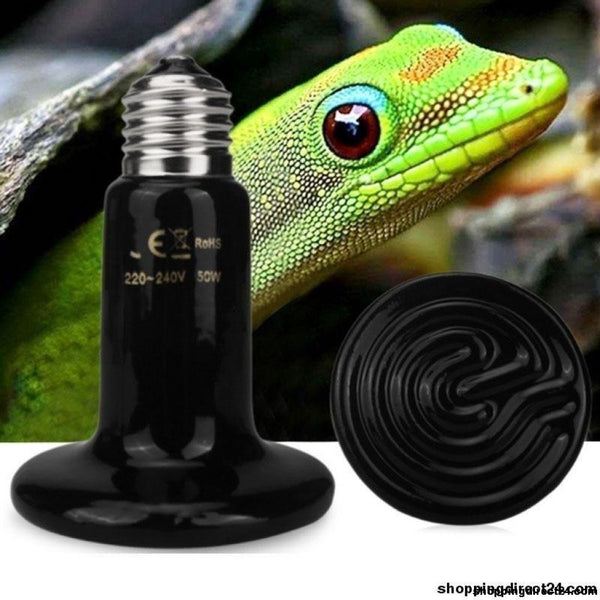 1Pcs Infrared Ceramic Emitter Heat Light Bulb Snake Tortoises Lizard Hedgehog Pet Lamp Cold-Blooded
