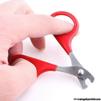 8Cm Pet Product Red Small Dogs With Pet Nail Scissors Cats Use Clippers Cat Tool Supplies 6Ca084