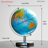 Automatische Rotation LED-Licht World Globe Constellation Map Globe für Home Table