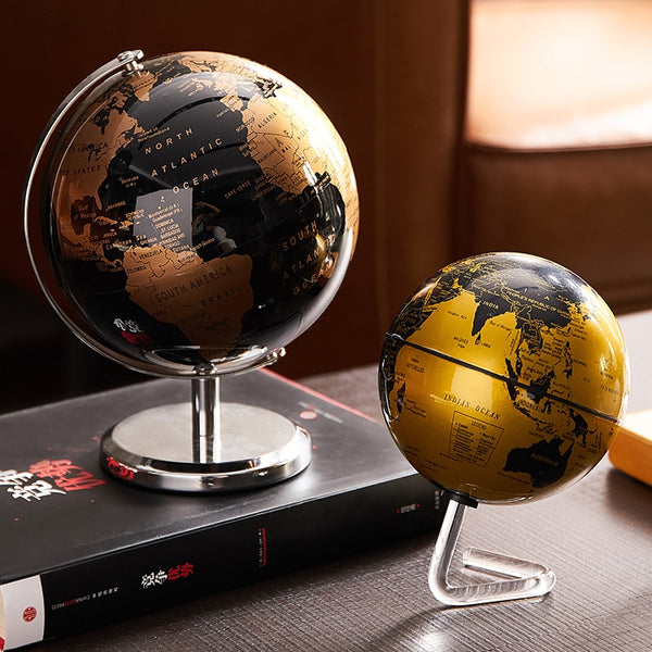 Automatic Rotation LED Light World Globe Constellation Map Globe for Home Table
