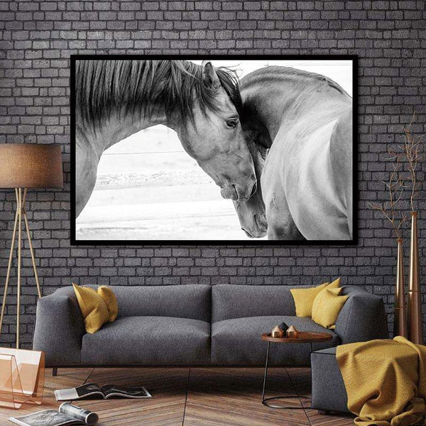 Art Prints On Animal Horses Decorative Home Decor Modular Canvas For Living Room No Frame